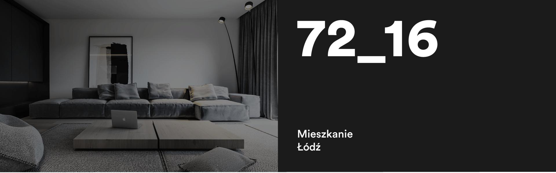 72_16 Aranżacja mieszkania w Łodzi