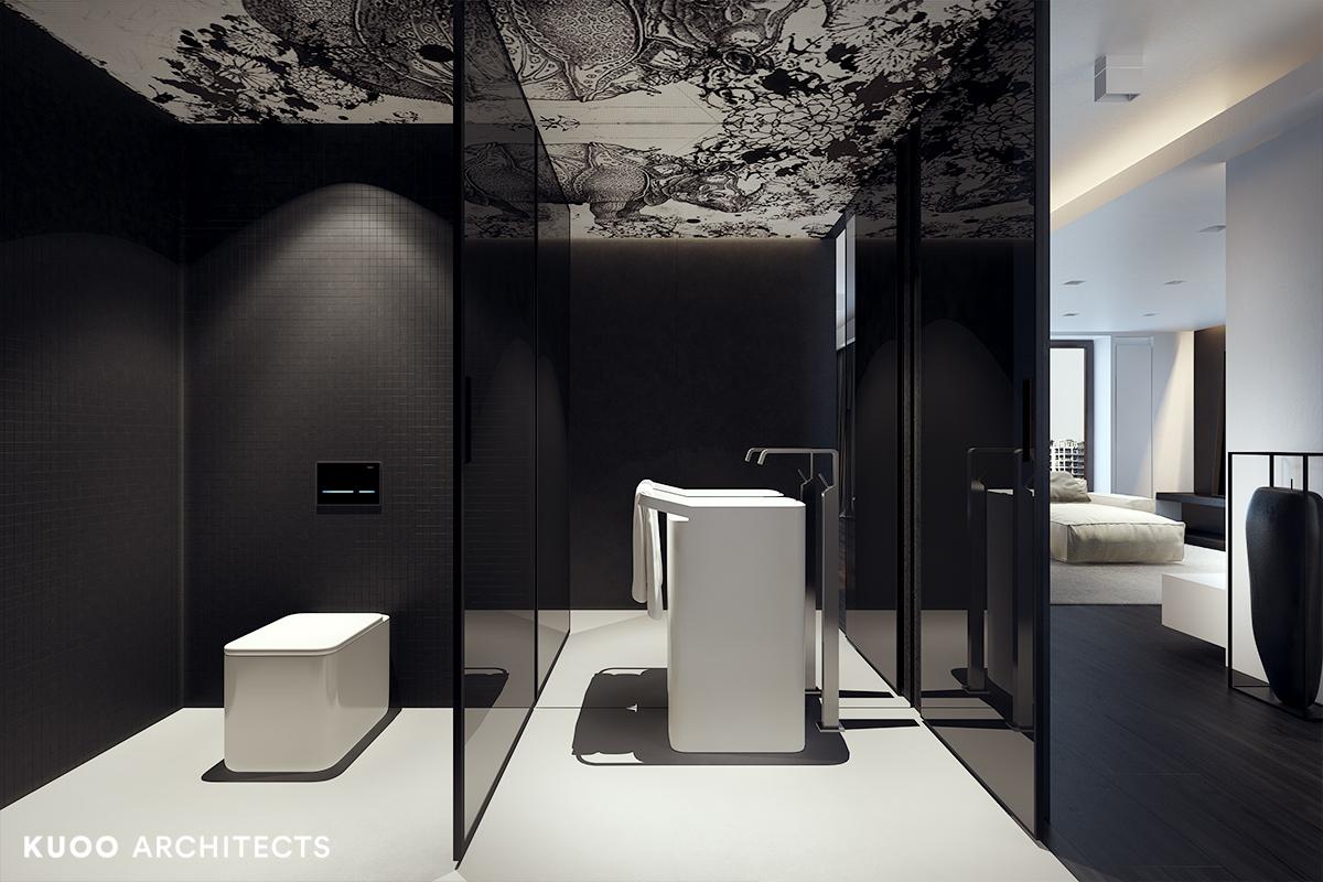 1, bielskobiala, kuooarchitects, kuoo, interior design, projekty wnetrz, minimalistyczna lazienka, łazienka