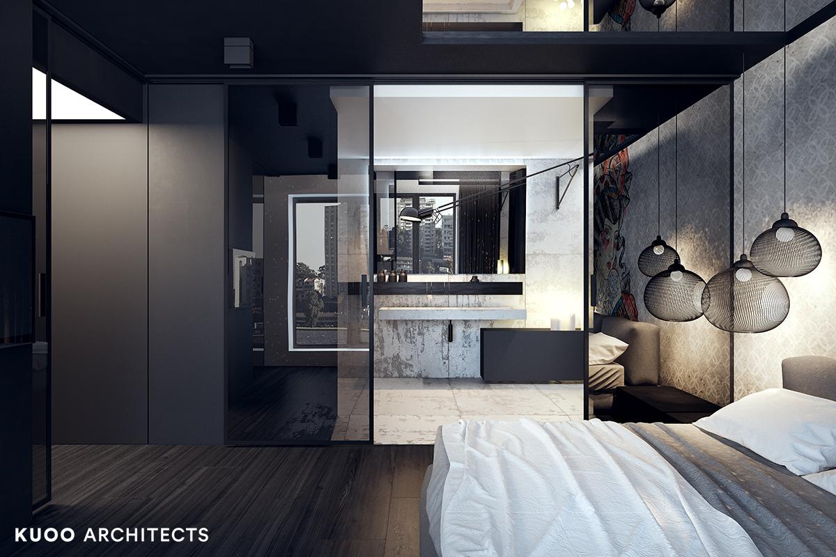 10, bielskobiala, kuooarchitects, kuoo, interior design, projekty wnetrz, sypialnia