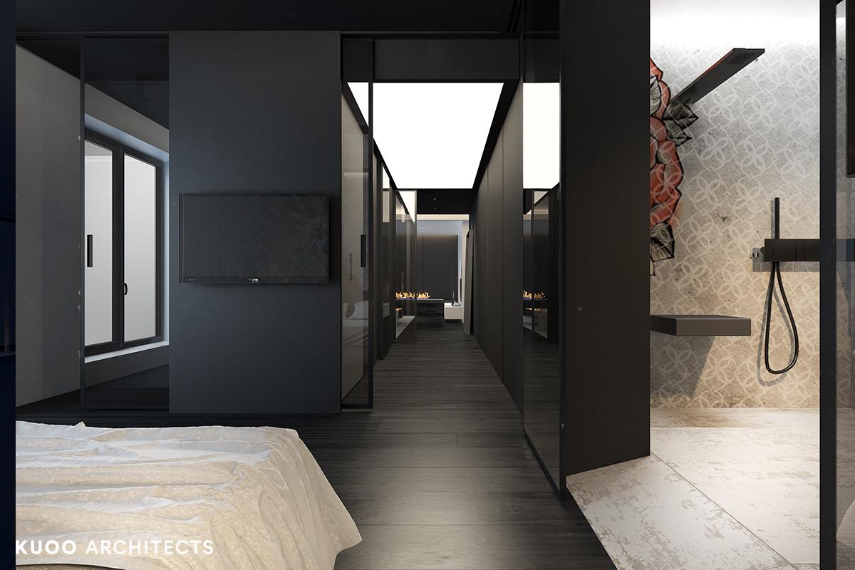11, bielskobiala, kuooarchitects, kuoo, interior design, projekty wnetrz, sypialnia