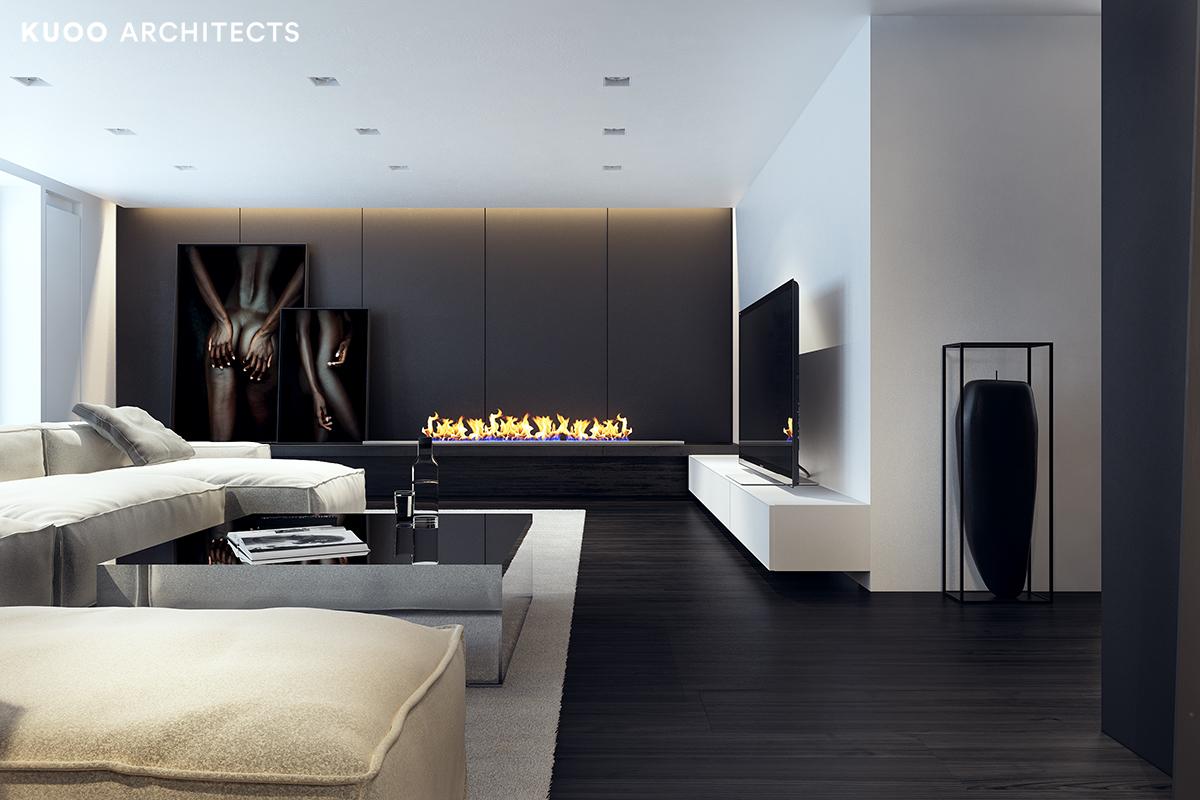 15, bielskobiala, kuooarchitects, kuoo, interior design, projekty wnetrz, salon