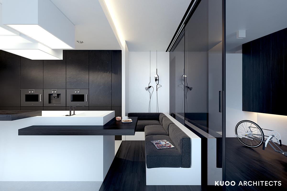 18, bielskobiala, kuooarchitects, kuoo, interior design, projekty wnetrz, kuchnia