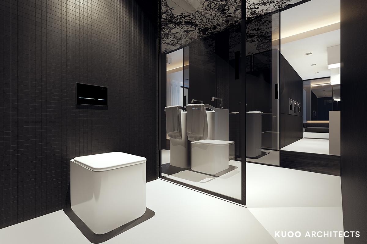 2, bielskobiala, kuooarchitects, kuoo, interior design, projekty wnetrz, minimalistyczna lazienka, łazienka