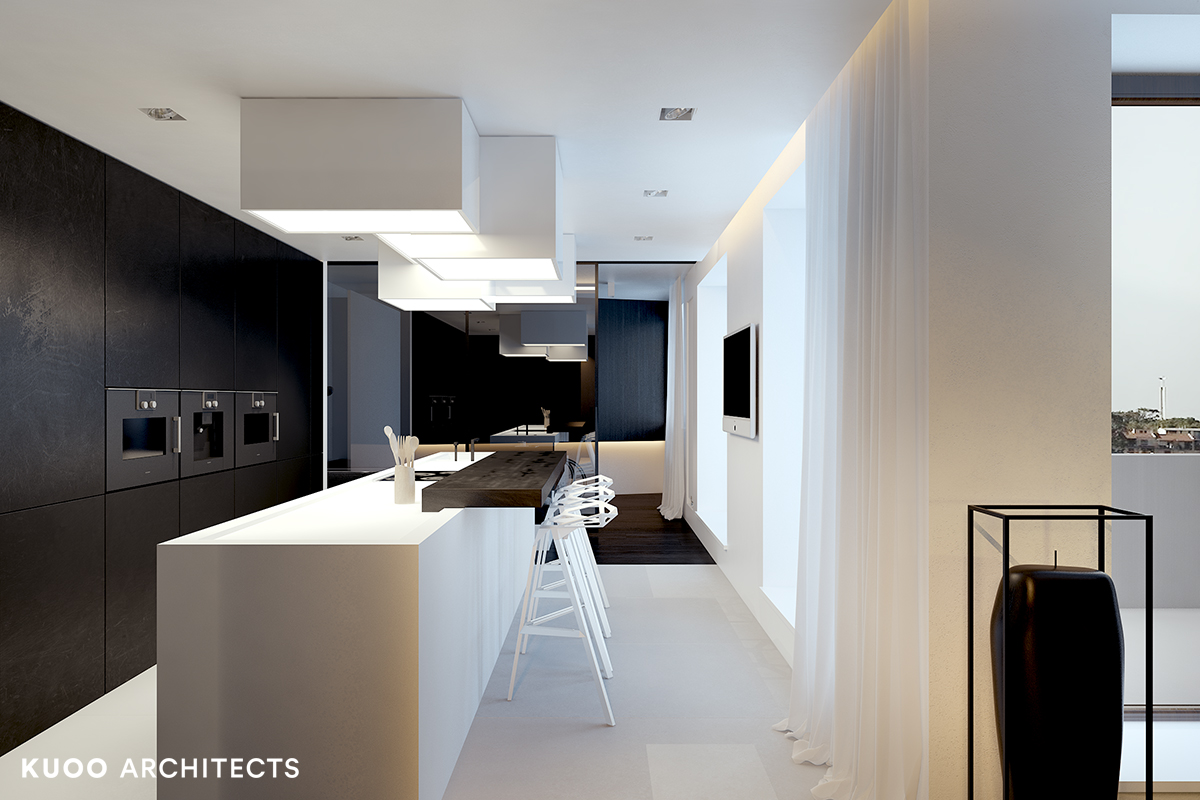 21, bielskobiala, kuooarchitects, kuoo, interior design, projekty wnetrz, kuchnia