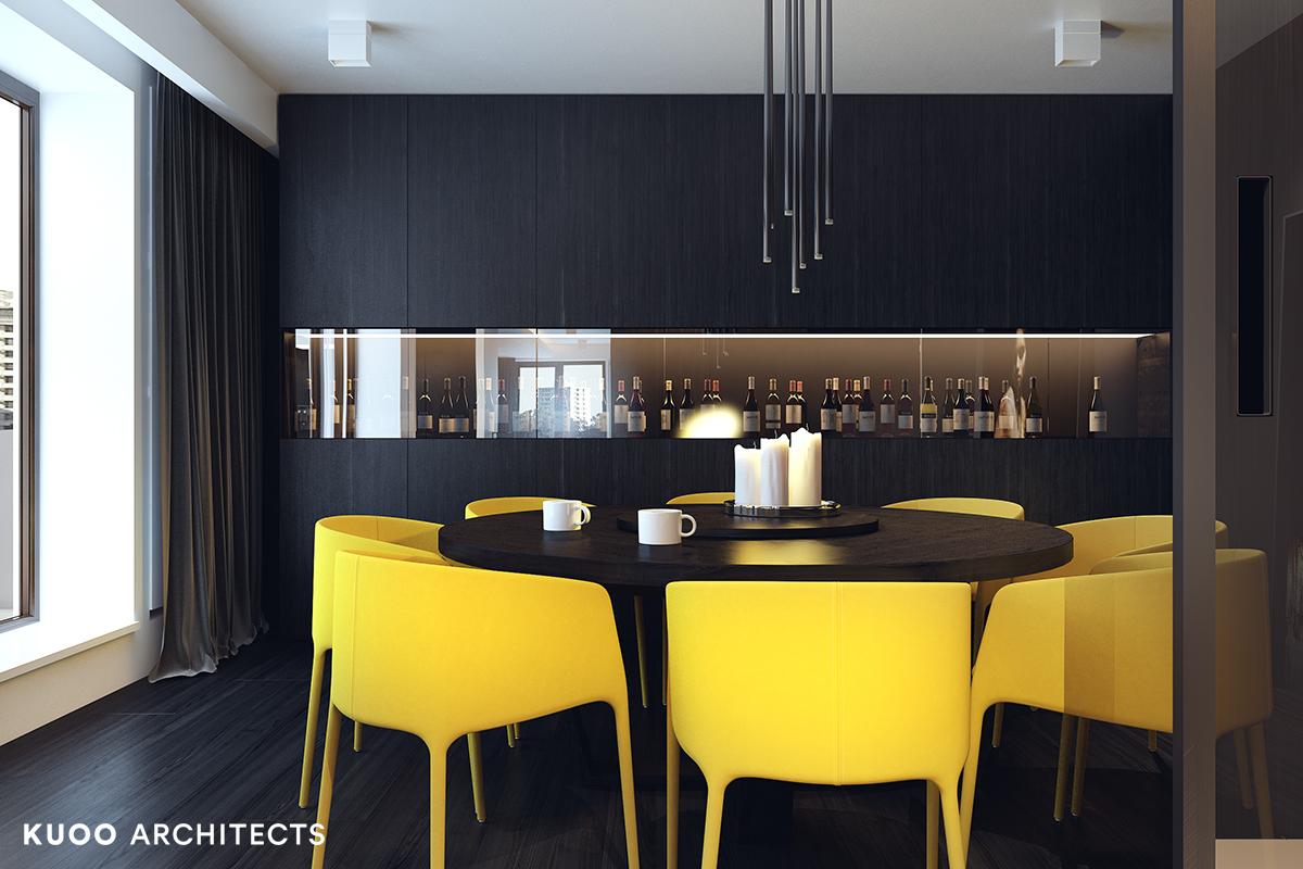 22, bielskobiala, kuooarchitects, kuoo, interior design, projekty wnetrz, jadalnia