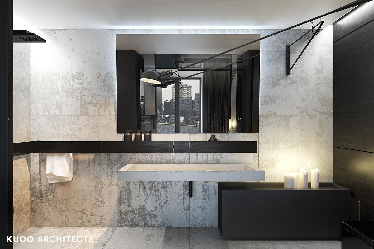 8, bielskobiala, kuooarchitects, kuoo, interior design, projekty wnetrz, minimalistyczna lazienka, łazienka